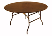 5' Round table.