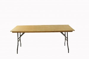 6' x 2'6'' Trestle table.