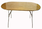 8' Oval Windsor table.